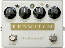 Red Witch Fuzz God II Guitar Effects Pedal