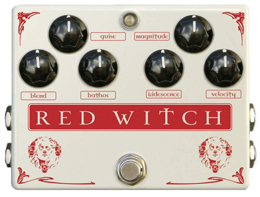 Red Witch Medusa Chorus/Trem Guitar Effects Pedal