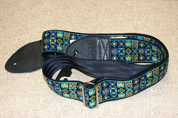 "Souldier 2"" Guitar Strap Woodstock Black 912"