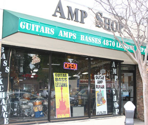 Amp Shop Bass Exchange North Hollywood, CA