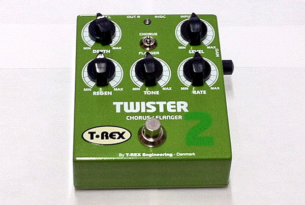 T-Rex Engineering Twister 2 Stereo Chorus and Flanger Guitar