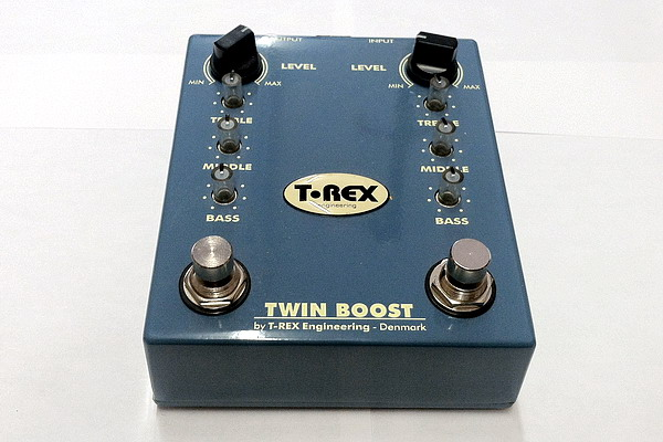 T-Rex Engineering Twin Boost Overdrive Guitar Effects Pedal