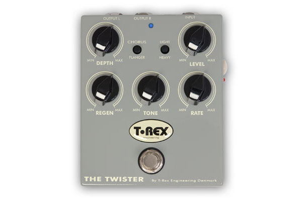 T-Rex The Twister Chorus/Flanger
