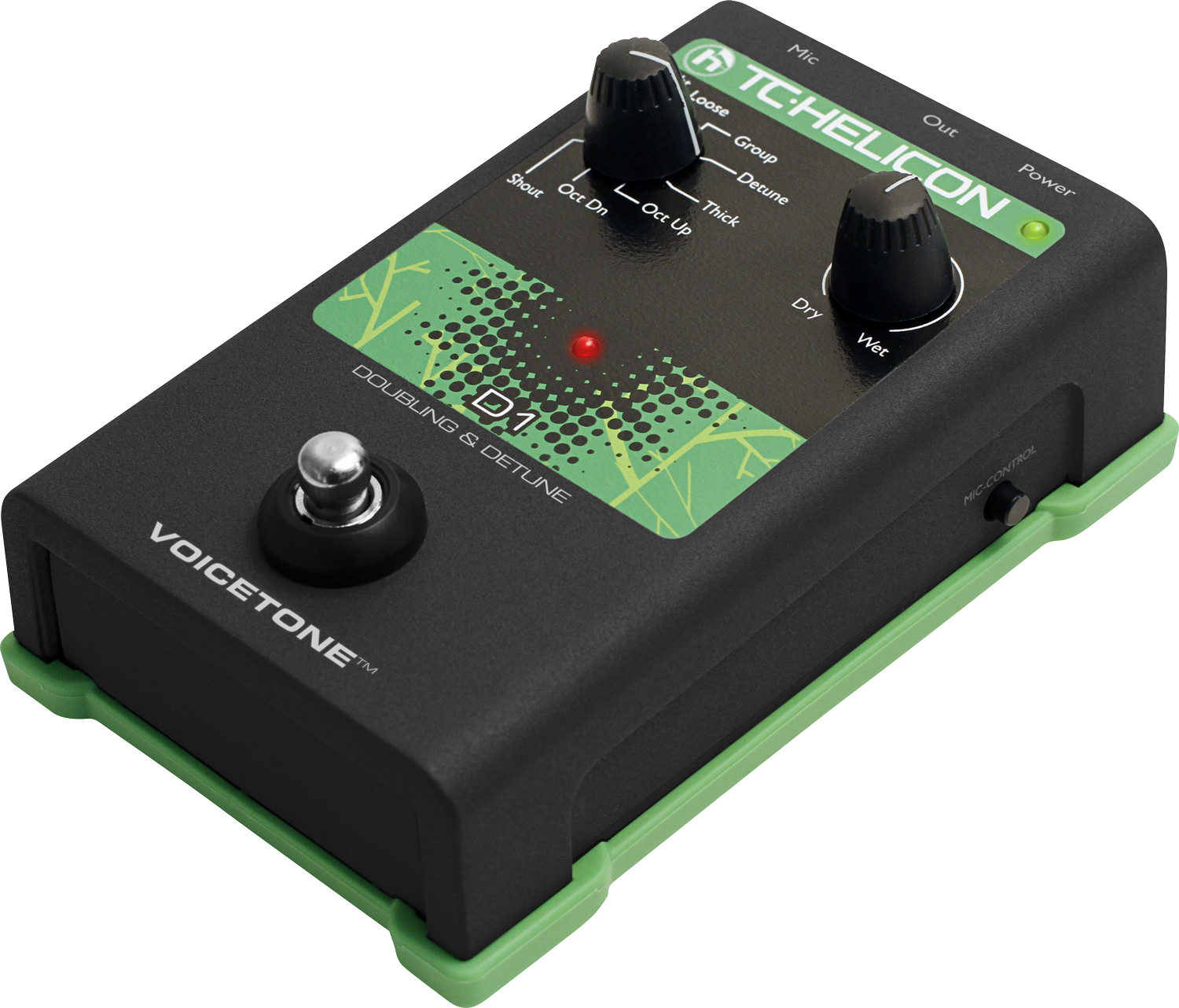 TC Helicon Voicetone D1 Dounling and Detune