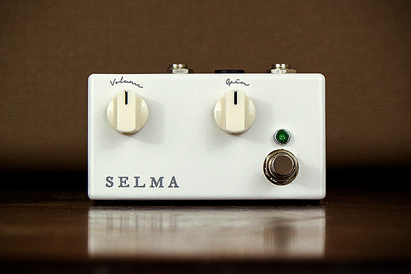 Taylor McGarth Guitars Selma Boost Pedal | TMG Guitars Selma