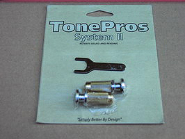 SPRS2-C TonePros PRS® Guitar Locking Studs - Chrome