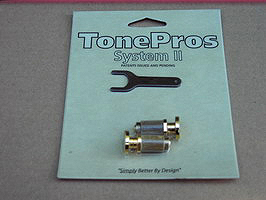 SPRS2-G TonePros PRS? Guitar Locking Studs - Gold