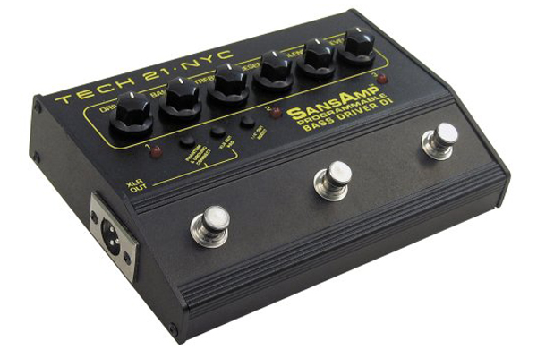 Tech 21 Sans Amp Bass Driver D.I. Programmable