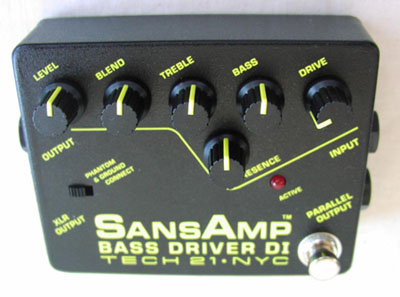 Tech 21 SansAmp Bass Driver DI