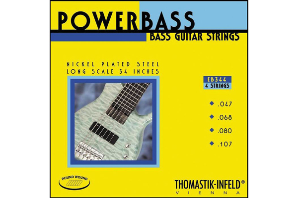 Thomastik EB344 Power Bass Roundwound 4 String