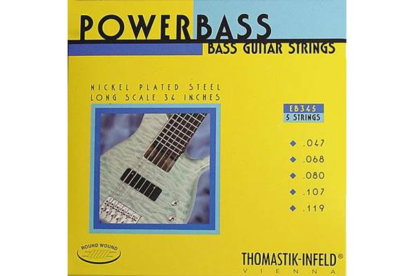 Thomastik EB345 Power Bass Roundwound 5-String
