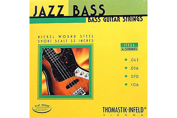 "Thomastik JF324 Flatwound Short Scale 32"" 4-String"