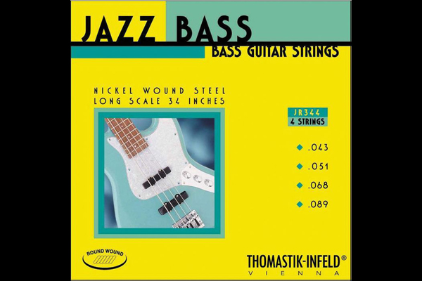 Thomastik JR344 Long Scale Roundwound 4 String 34""