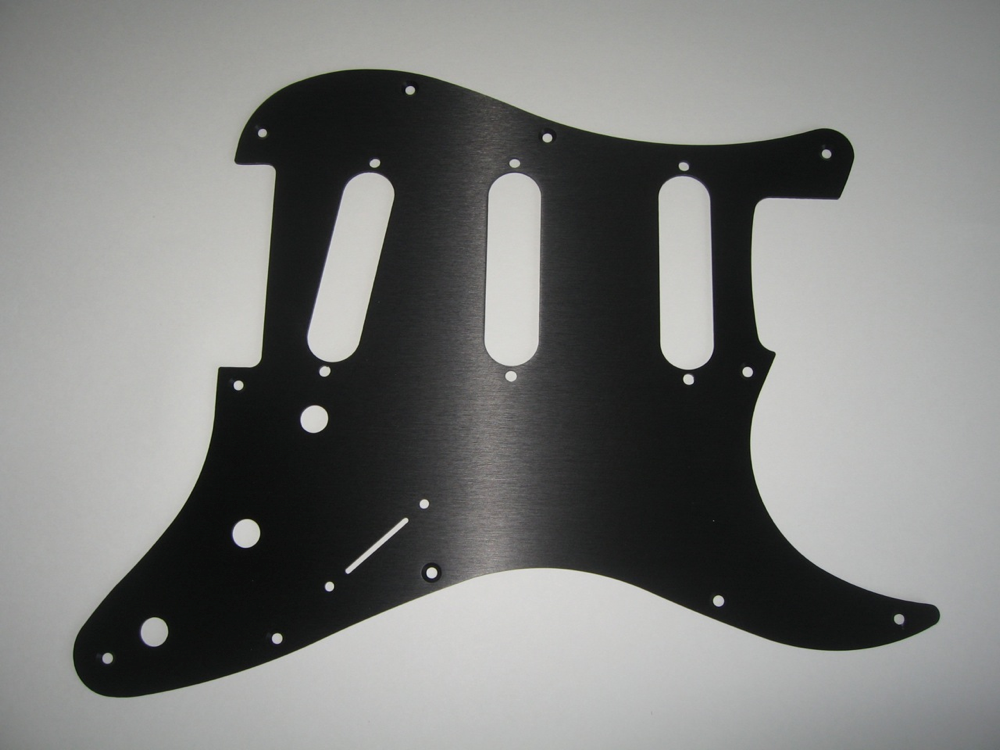 Tone-Guard Pickguard for Strat® S/S/S Black