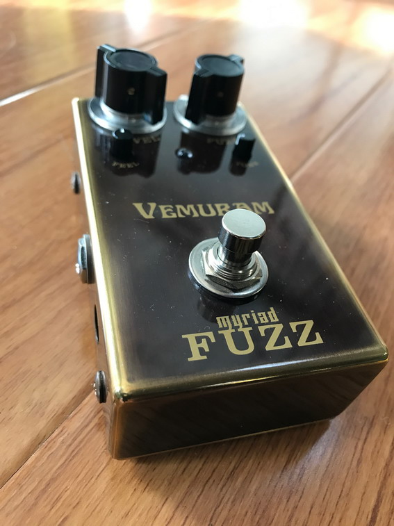 Vemuram Myriad Fuzz Josh Smith Signature Silicon and a vintage Germanium FUZZ Pedal