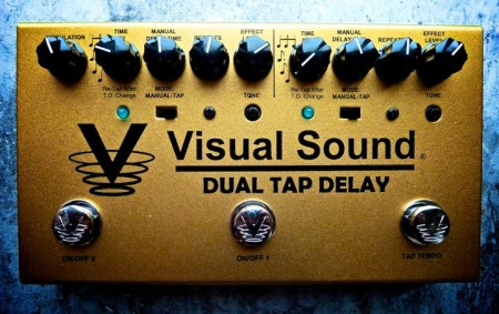 Visual Sound Dual Tap Delay Guitar Effects Pedal