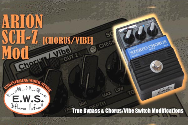 Arion Stereo Chorus Custom MOD XOTIC