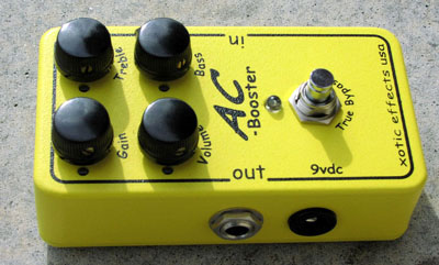 Xotic AC Booster Guitar Pedal