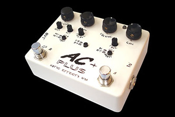 Xotic AC Plus Dual Booster Guitar Pedal