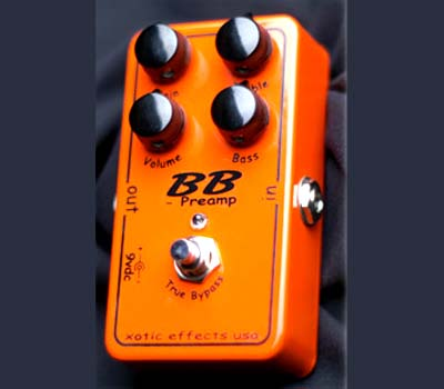 Xotic BB Preamp Gain Booster Guitar Pedal