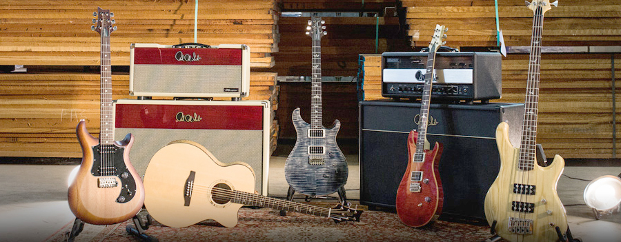 PRS Guitars Paul Reed Smith