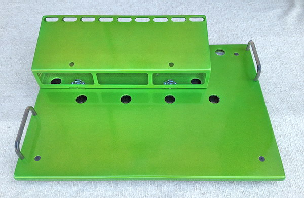 Fix Pedal Boards Type 2 Payday Green Pedalboard