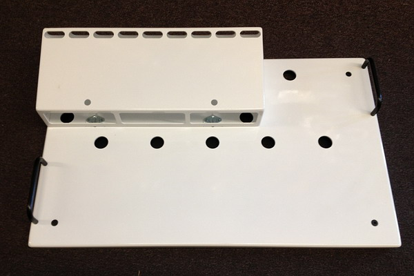 Fix Pedal Boards Type 3 Spy White Pedalboard