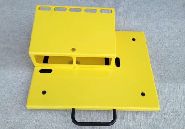 Fix Pedal Boards Type 1 Agata Yellow Pedalboard