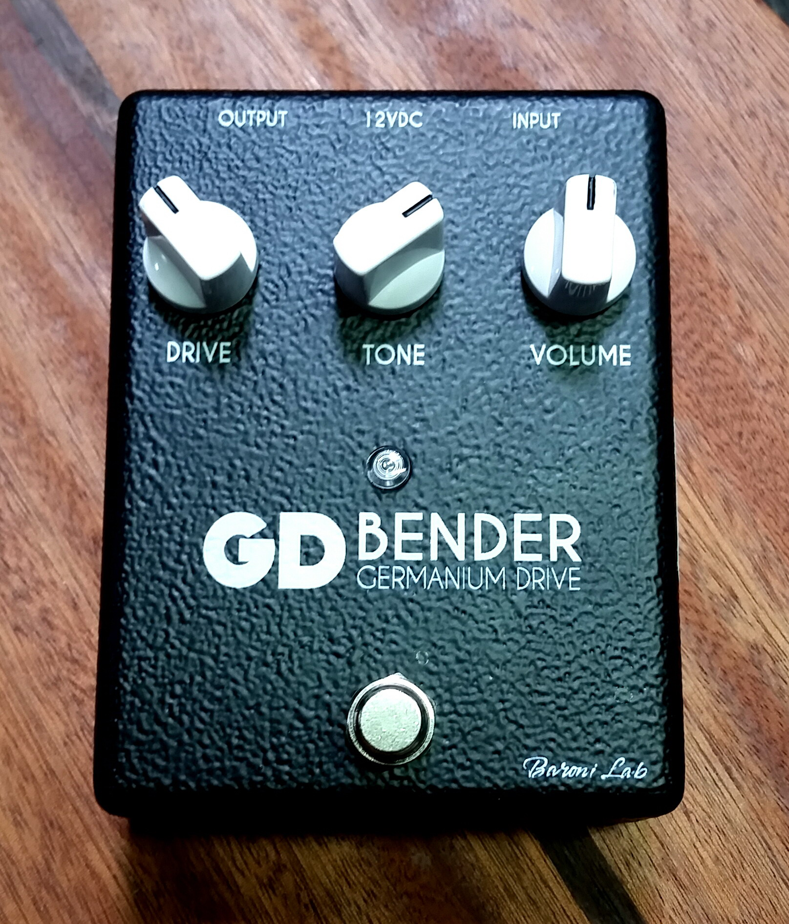 BARONI LAB GD Bender Germanium Drive overdrive pedal