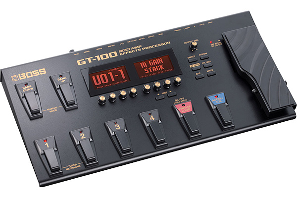 ROLAND GT-100 AMP EFFECTS PROCESSOR