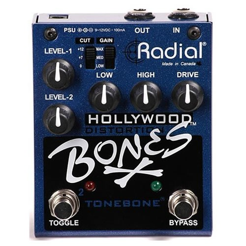 RADIAL Bones Hollywood Distortion pedal