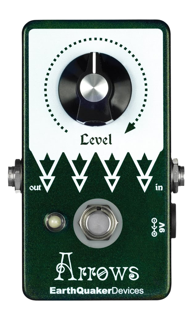 EARTHQUAKER Arrows booster pedal