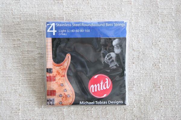 MTD Stainless Steel Bass Strings Light Guage 4 string set