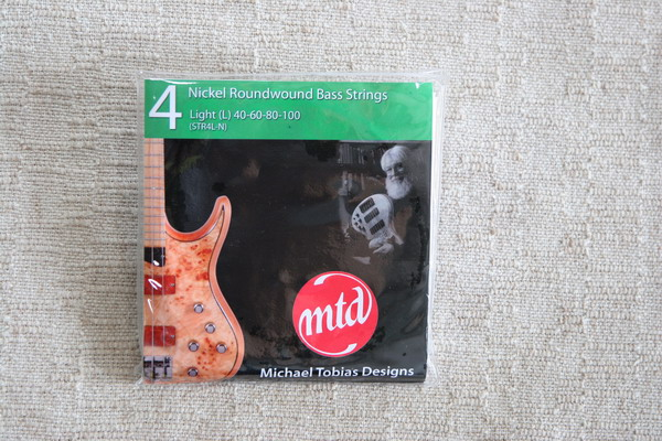 MTD Nickel Wound Bass Strings Light Guage 4 string set