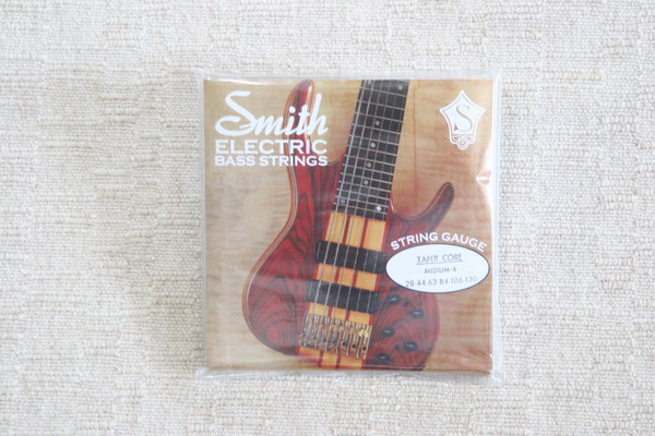 Ken Smith Medium 6 String Set Bass Strings Taper Core
