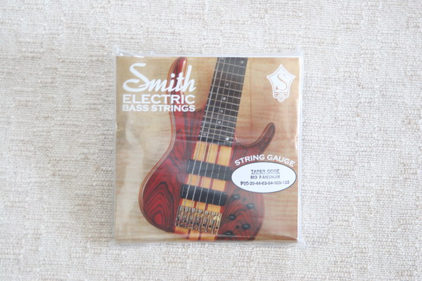 Ken Smith Medium 7 String Set Bass Strings Taper Core
