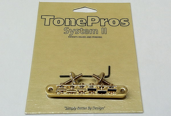 AVR2-G Tonepros Gold Bridge